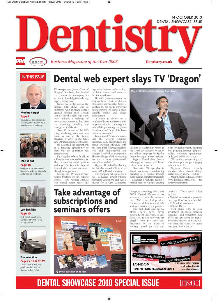 Press Release Magazine Article Web Designer